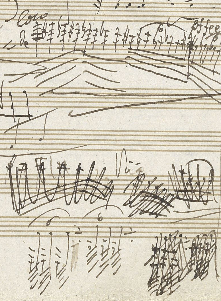 Beethoven Musical Notes