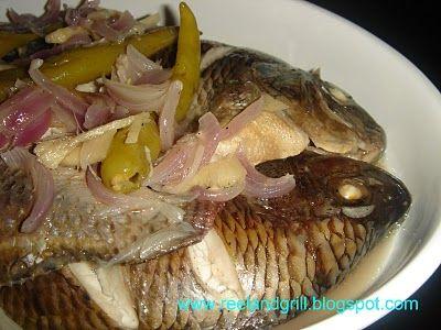 how to cook paksiw na tilapia