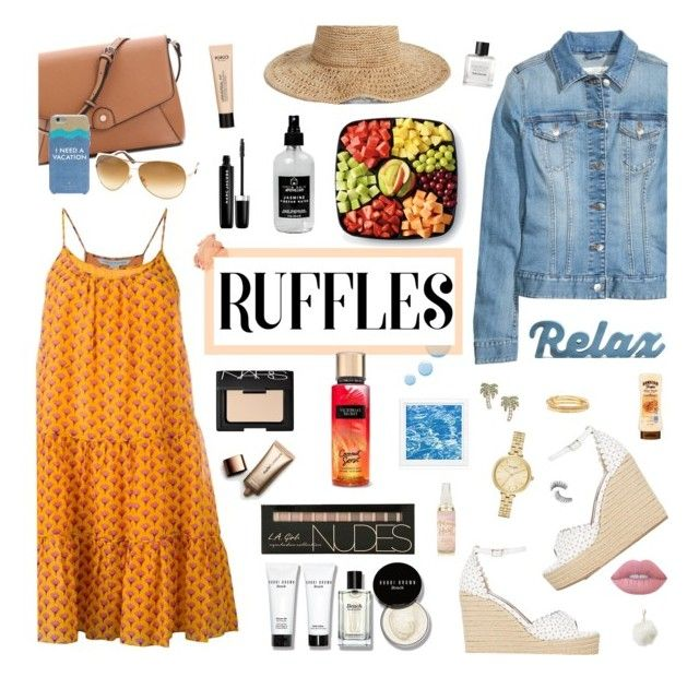 """All Ruffled Up Contest Entry"" by jafashions ❤ liked on Polyvore featuring Diane Von Furstenberg, Tabitha Simmons, Tom Ford, Bobbi Brown Cosmetics, Nordstrom, Kate Spade, Topshop, Lime Crime, NARS Cosmetics and Little Barn Apothecary"