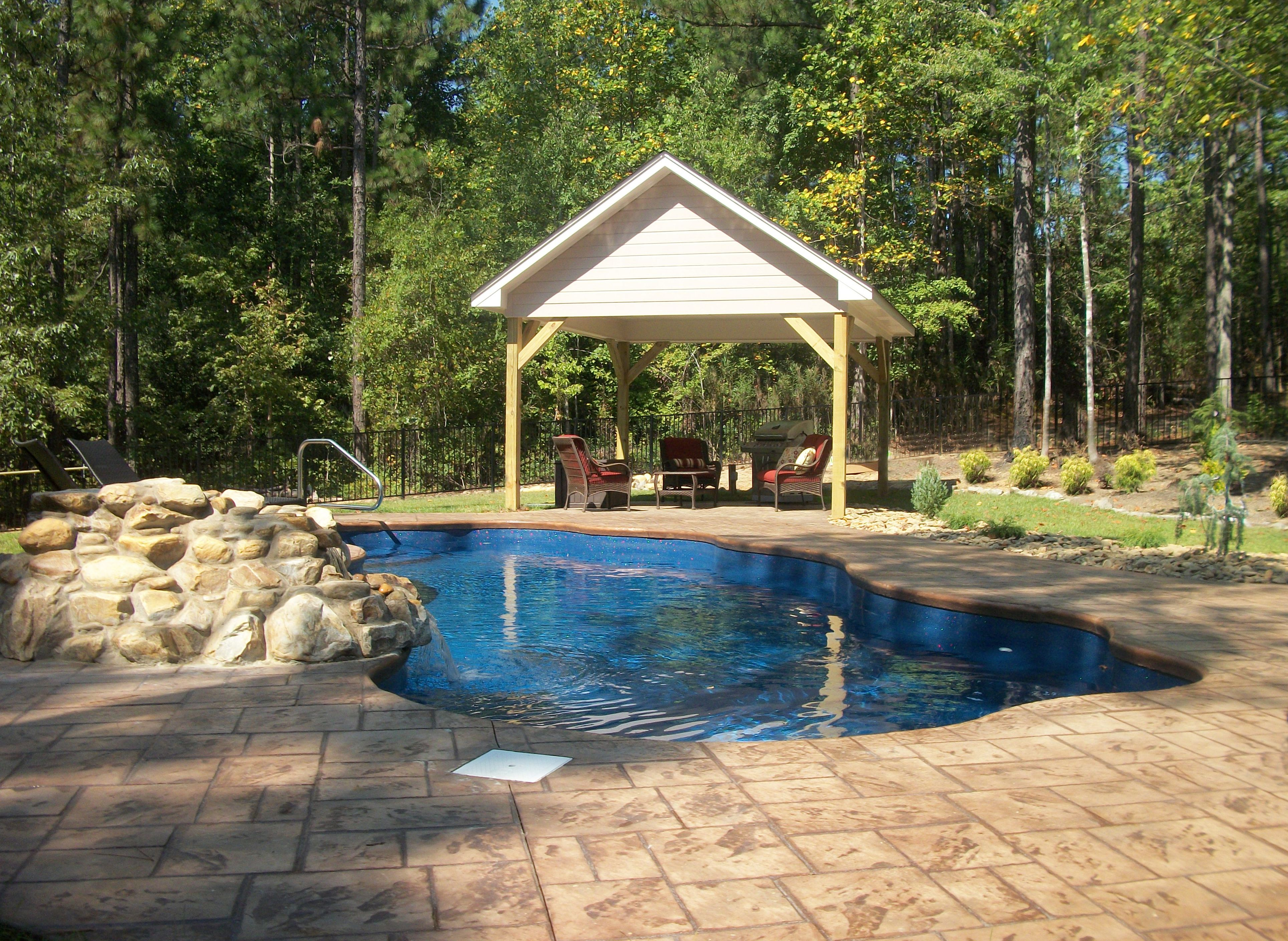Pretty Pool Www Parrotbaypoolsnc Com Outdoor Living