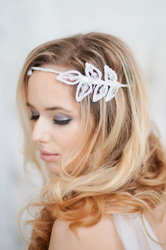 wedding head band accessories | fabmood.com