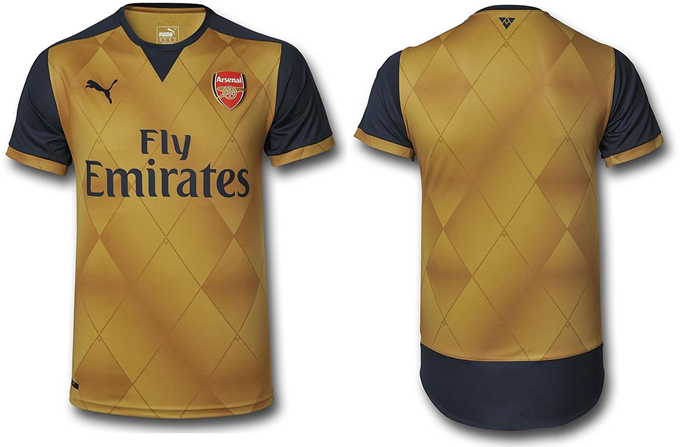 25b27a062 Arsenal Reveal New Gold Away Kit With Another Massive Launch Event ...