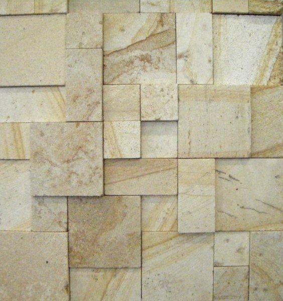 3d Yellow Sandstone Smooth Wall Cladding Surfaces Decoracion Recibidor Decoracion De Unas Fachadas