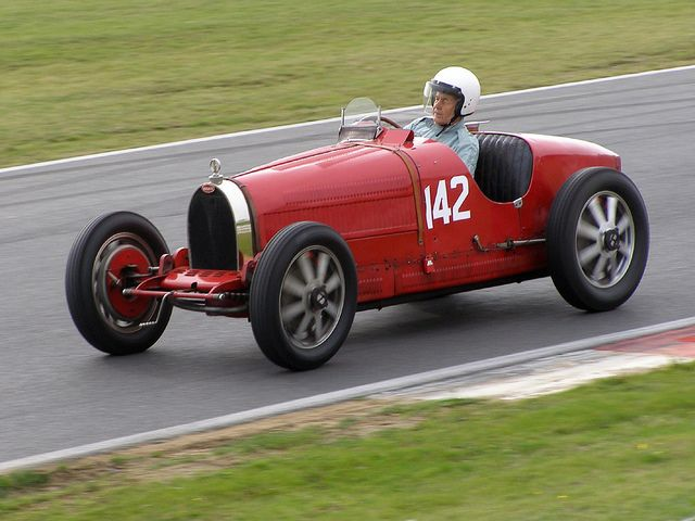 Vintage Seaman Trophy Race For Vintage Racing Cars Snetterton
