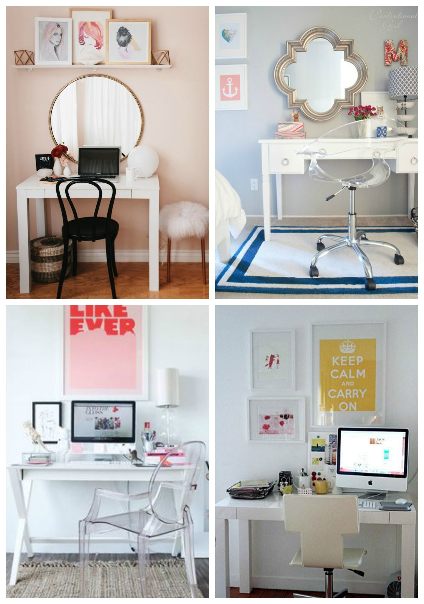 Desk Vanity Combos. Put Bed And