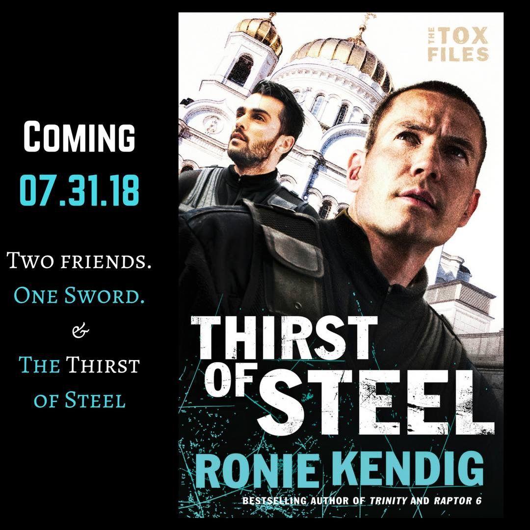 Thirst of Steel (Tox Files #3) by Ronie Kendig. Preorder on Amazon
