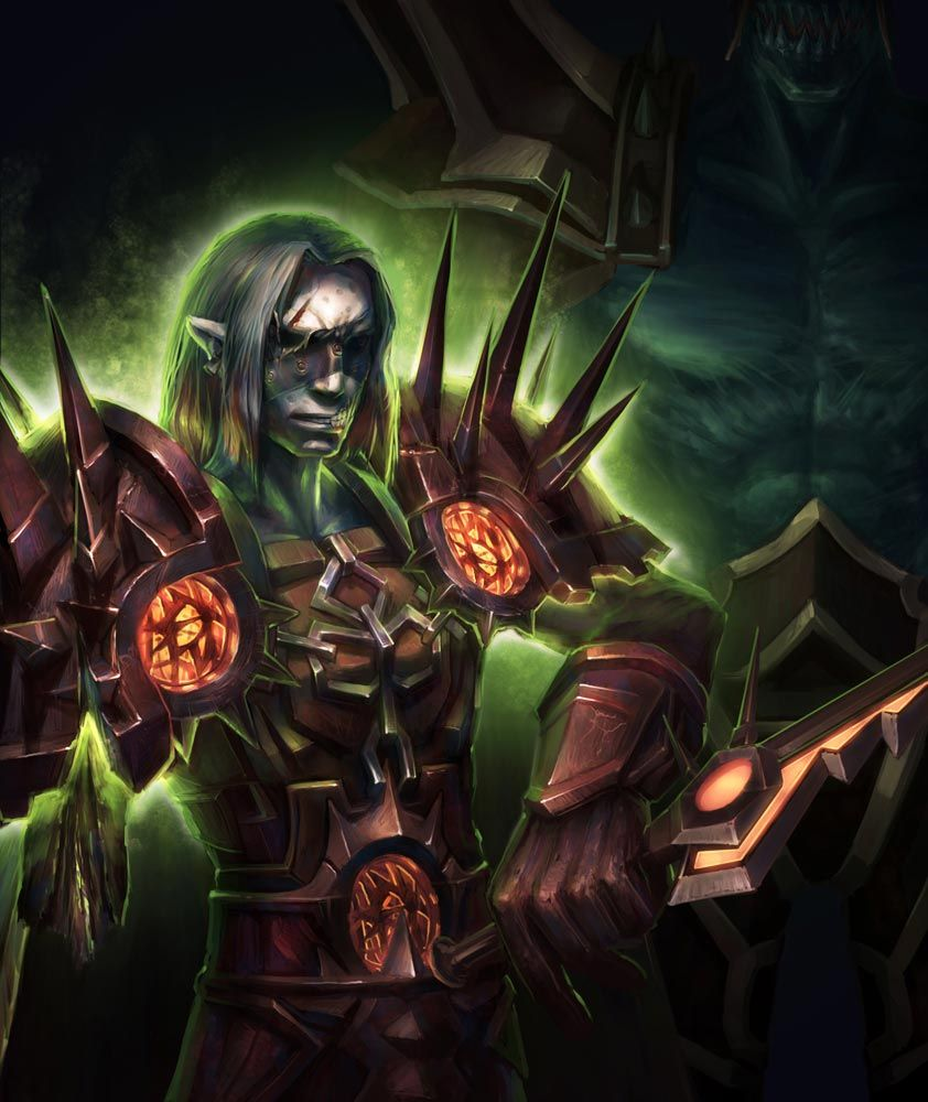 Undead Warlock World Of Warcraft Characters World Of