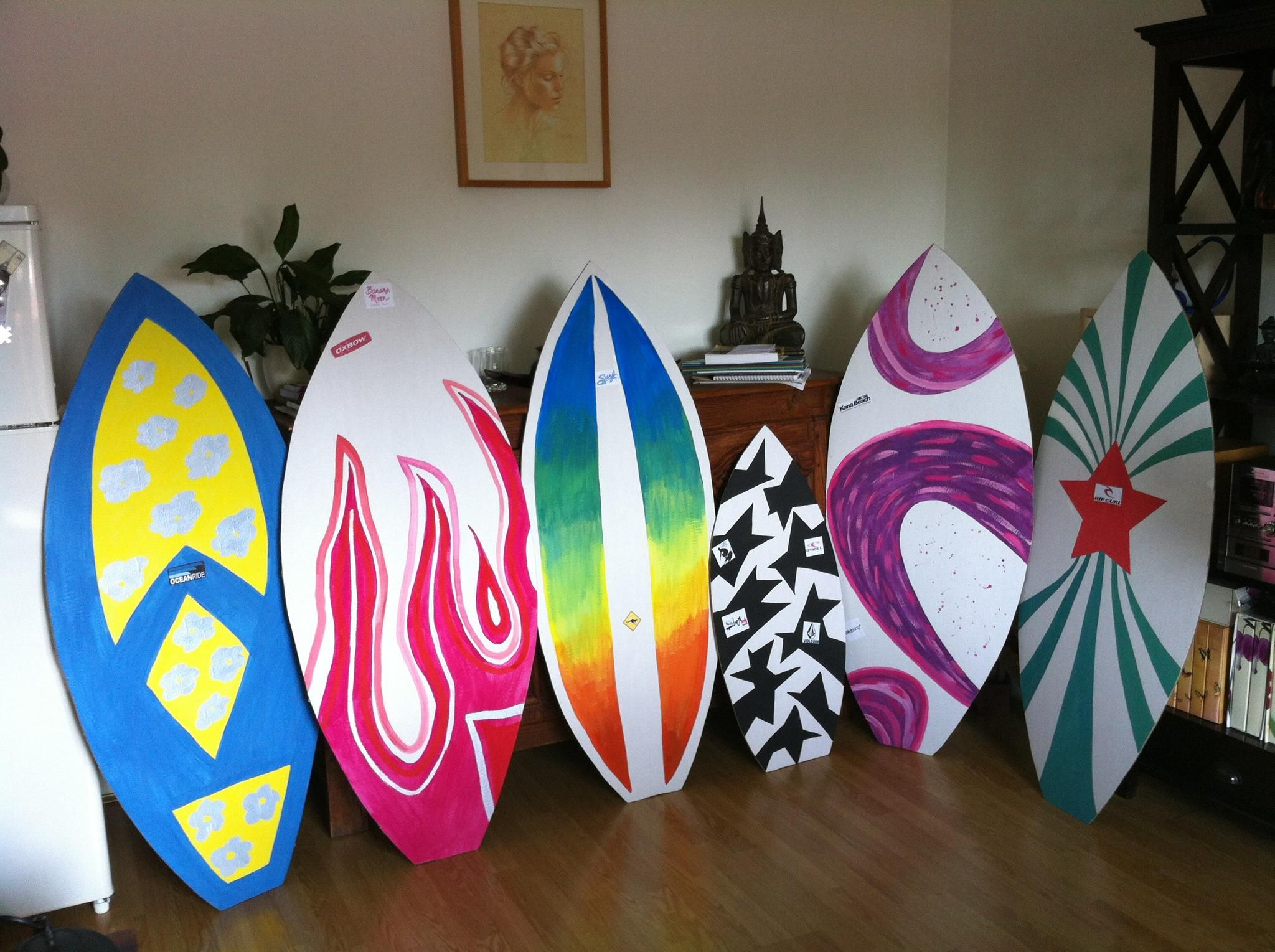 How To Make A Cardboard Surfboard Prop