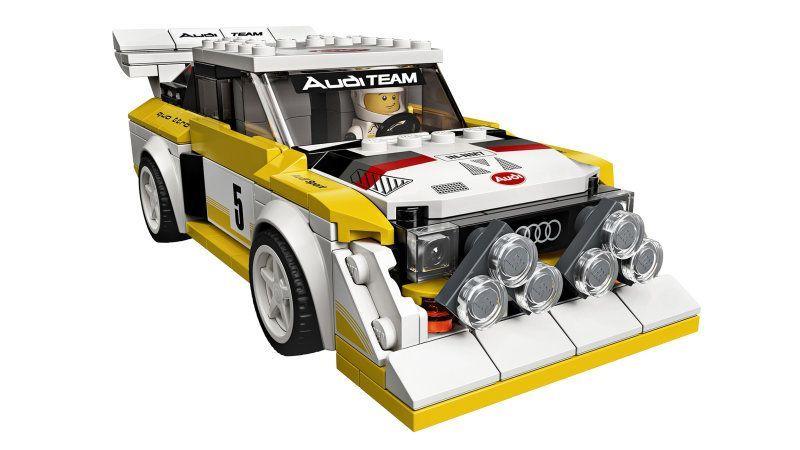 Lego unveils Ferrari F8 Tributo and 1985 Audi Sport Quattro S1 Speed Champions   - Audi Updates & A