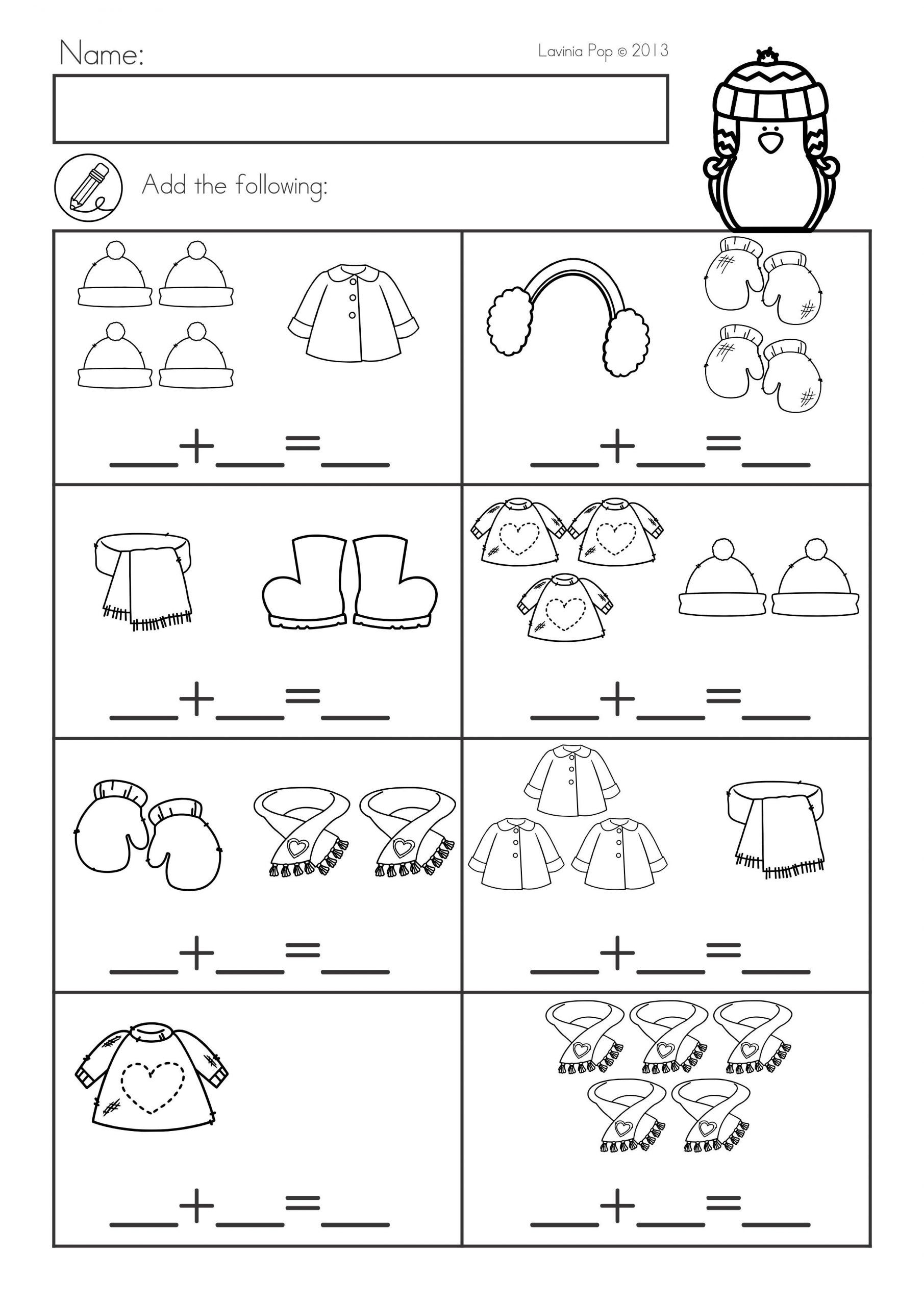 Prep For Kindergarten Worksheets In