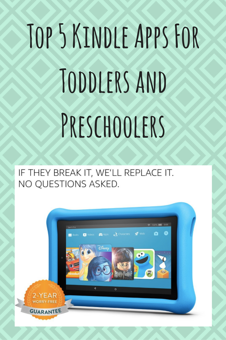 Fun and educational kindle apps for toddlers