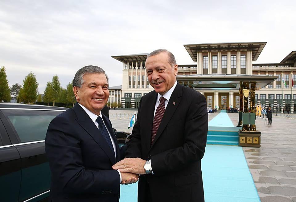 şevket mirziyoyev ve tacikistan'ı ziyaret etti ile ilgili görsel sonucu