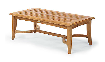 Frontgate Melbourne coffee table | Coffee table wood ...