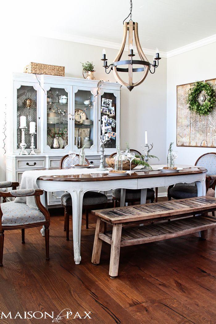 A Simple Christmas Table Winter HolidayChristmas HolidaysHoliday DecorSimple