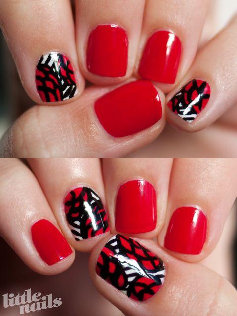 Red Roses | Little Nails | Polish & diseños | Pinterest | Opi dutch ...
