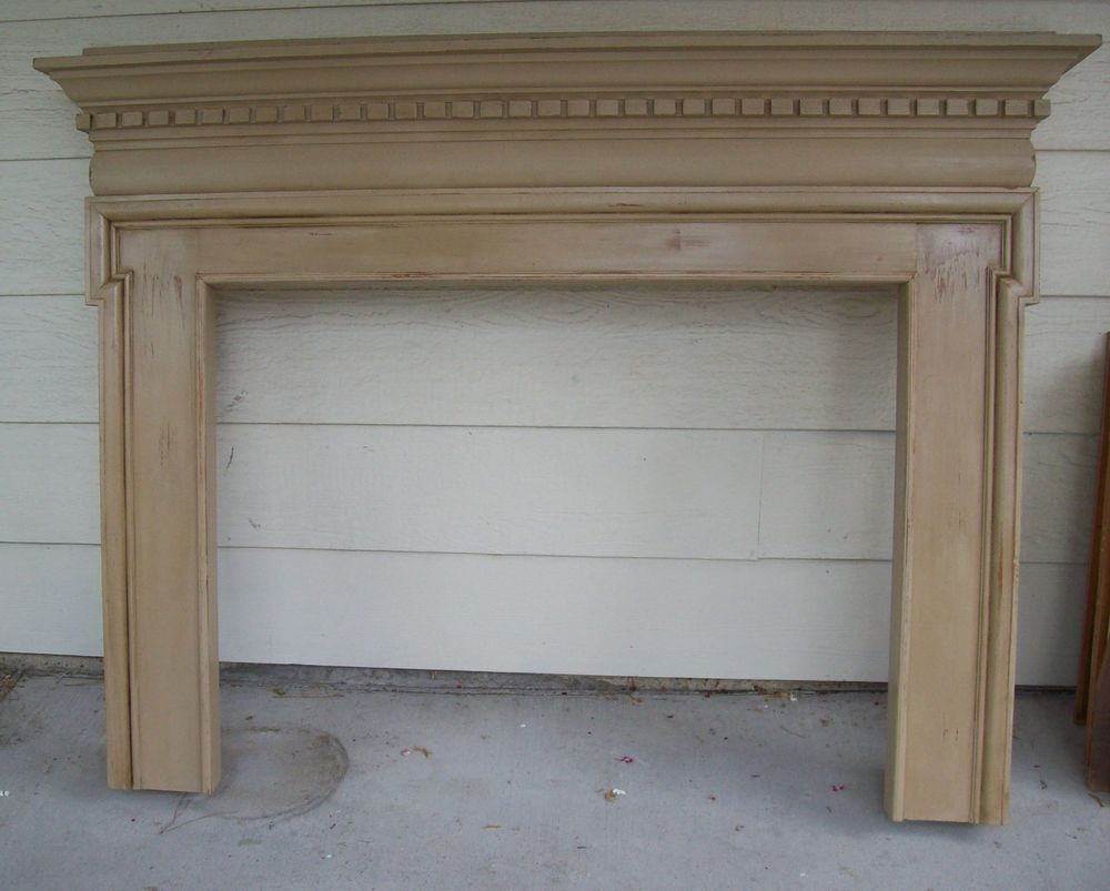 mantel antique fireplace mantel surround with dental moldings - Antique Fireplace Mantels