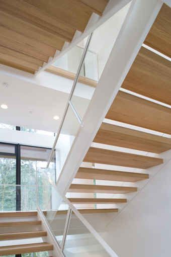 Breaking Dawn 2 Bella And Edward S Cottage Contemporary House Minimalist House Design House Staircase