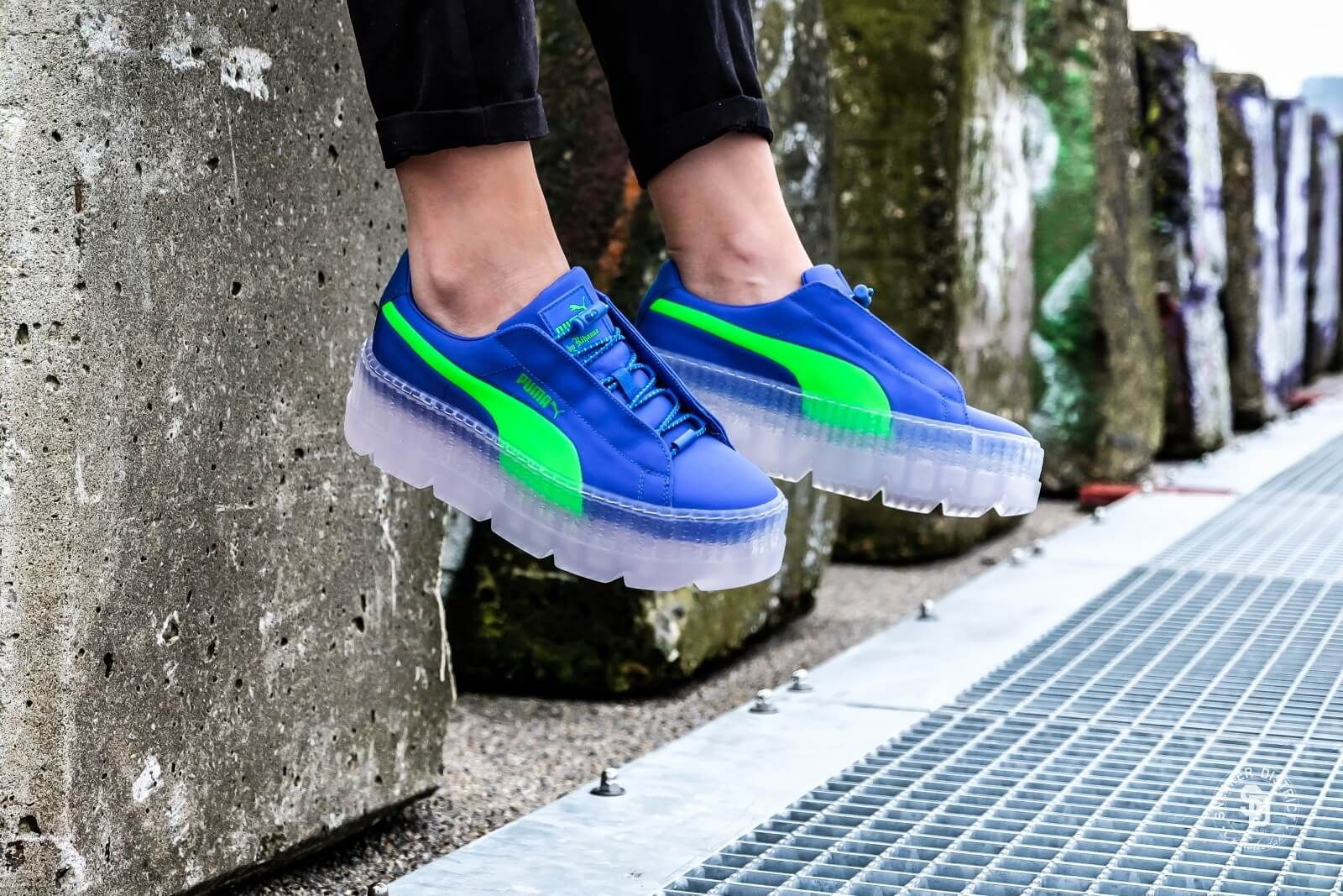 Puma Cleated Creeper Surf Wn's Dazzling Blue Green Gecko