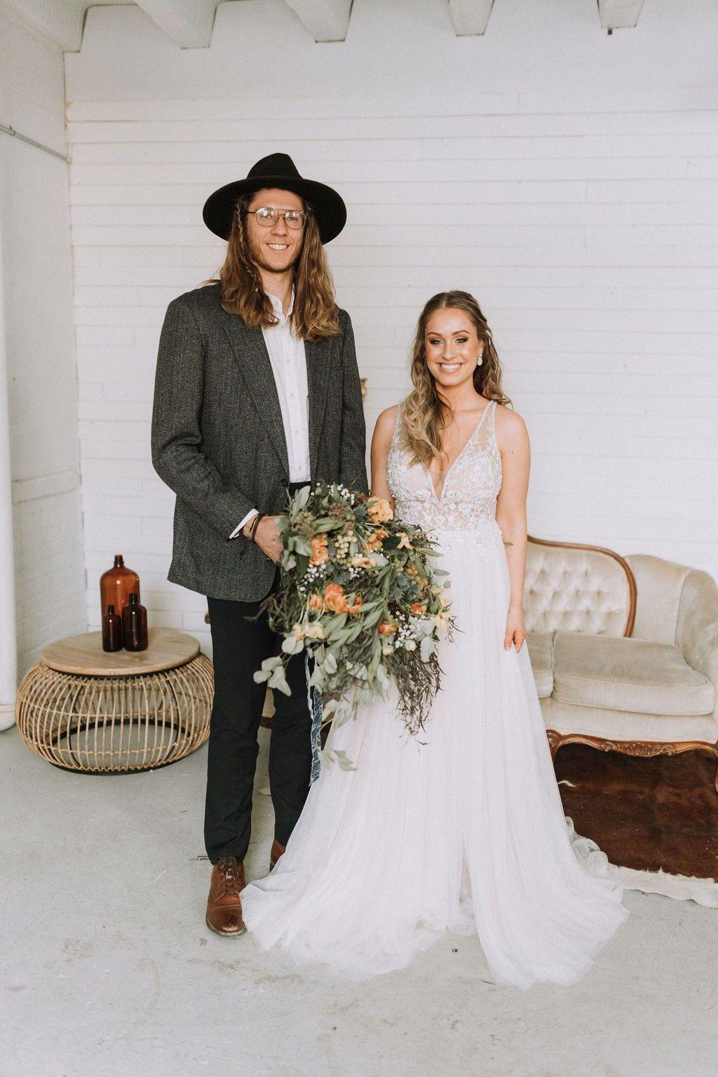 Boho Bride Wedding Inspiration Nicole Midwest Fargo