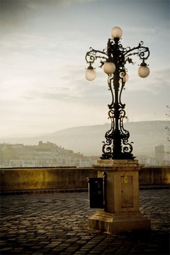 Budapest A City Where The Past Is Just Around The Corner Outside Light Post Lamp Post Street Light
