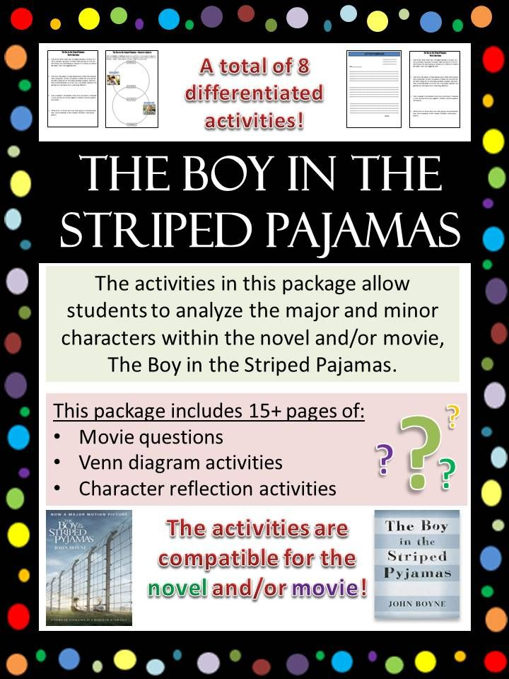 the boy in the striped pajamas character analysis movie after reading the novel or watching the movie the boy in the striped pajamas