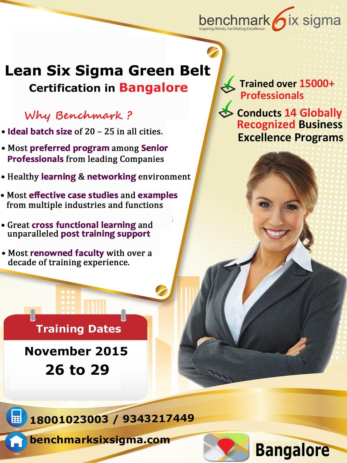 Lean six sigma green belt certification program in bangalore lean six sigma green belt certification program in bangalore 1betcityfo Images