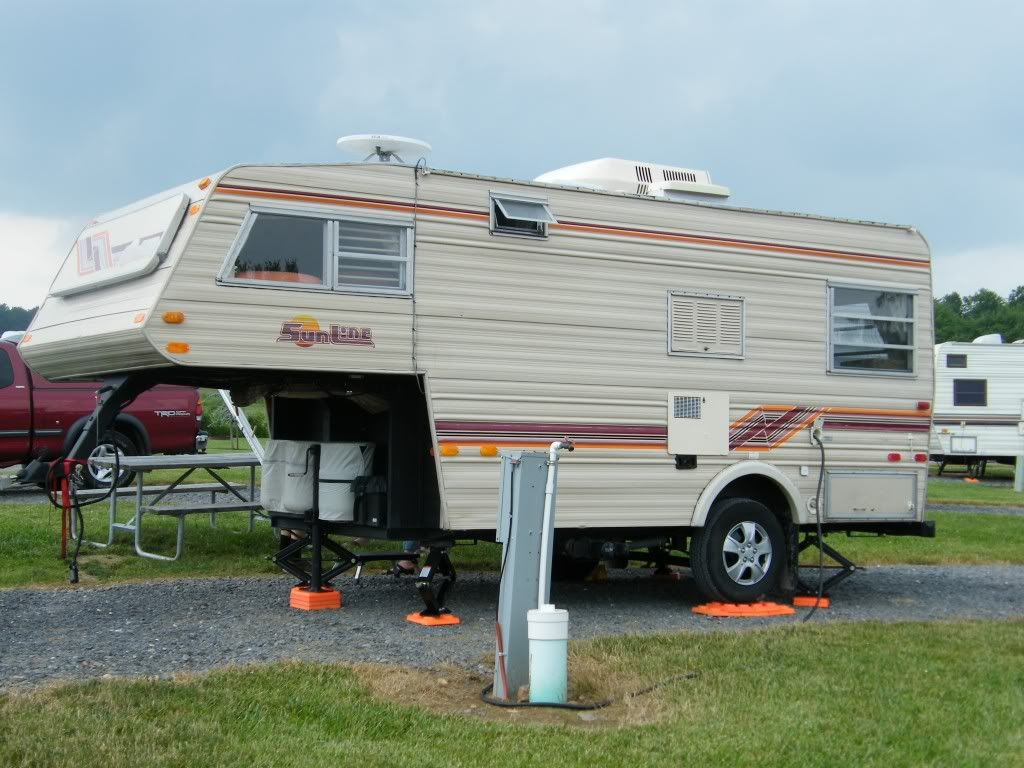 1889 Sunline 5th Wheel Camper | Posted By: EMD_DRIVERon 06/26/11 11:54am |  RV Ideas | Pinterest | Rv, Small Trailer And Rv Campers
