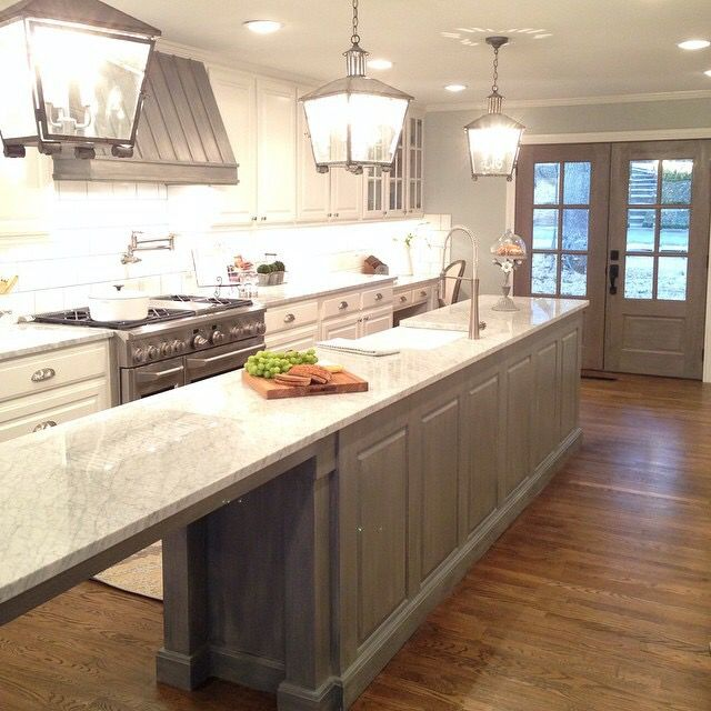 French Country Kitchen From Season 5 Fixer Upper French Country Kitchen Kitchen Countertop Decor Country Kitchen
