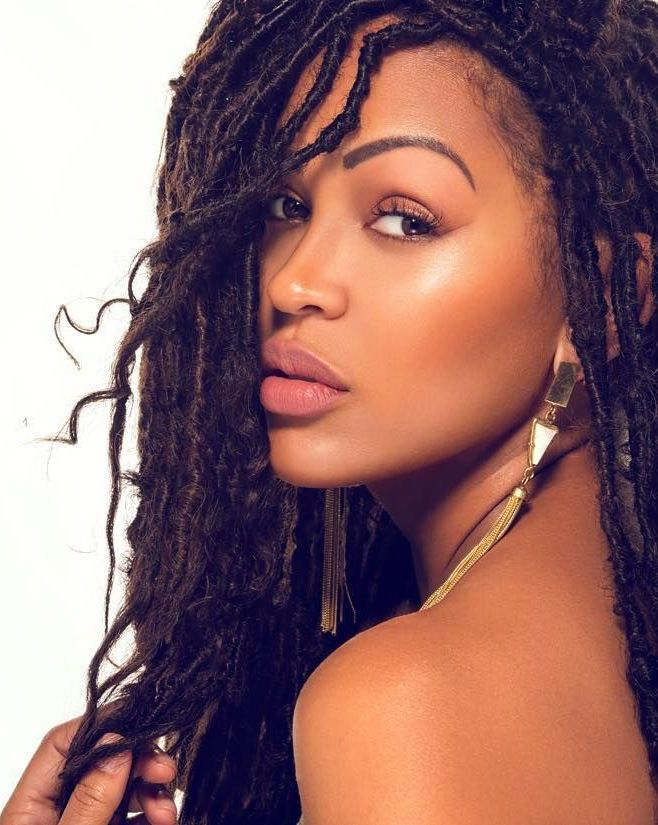 How To Install Natural Looking Faux Locs Curls Understood Hair Styles Natural Hair Styles Box Braids Hairstyles