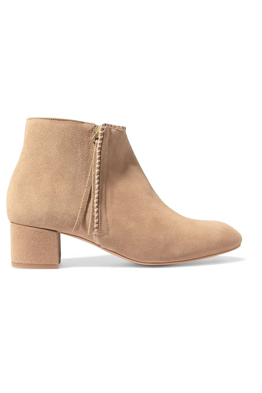 Ankle · MAJE Suede Ankle Boots.