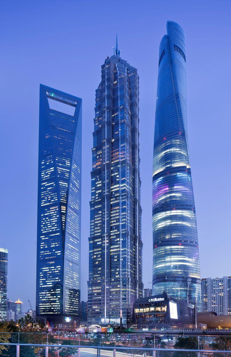 Shanghai Tower Gensler Art&arch Gratte Ciel Architecture Futuriste And