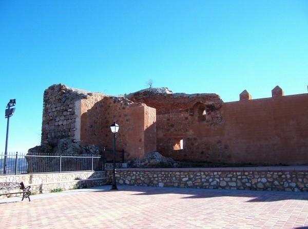 Restauracion del Castillo de Albaladejo. Ciuda Real .Spain .