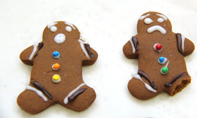 Super Soft Gingerbread Men Cookies Gingerbread man