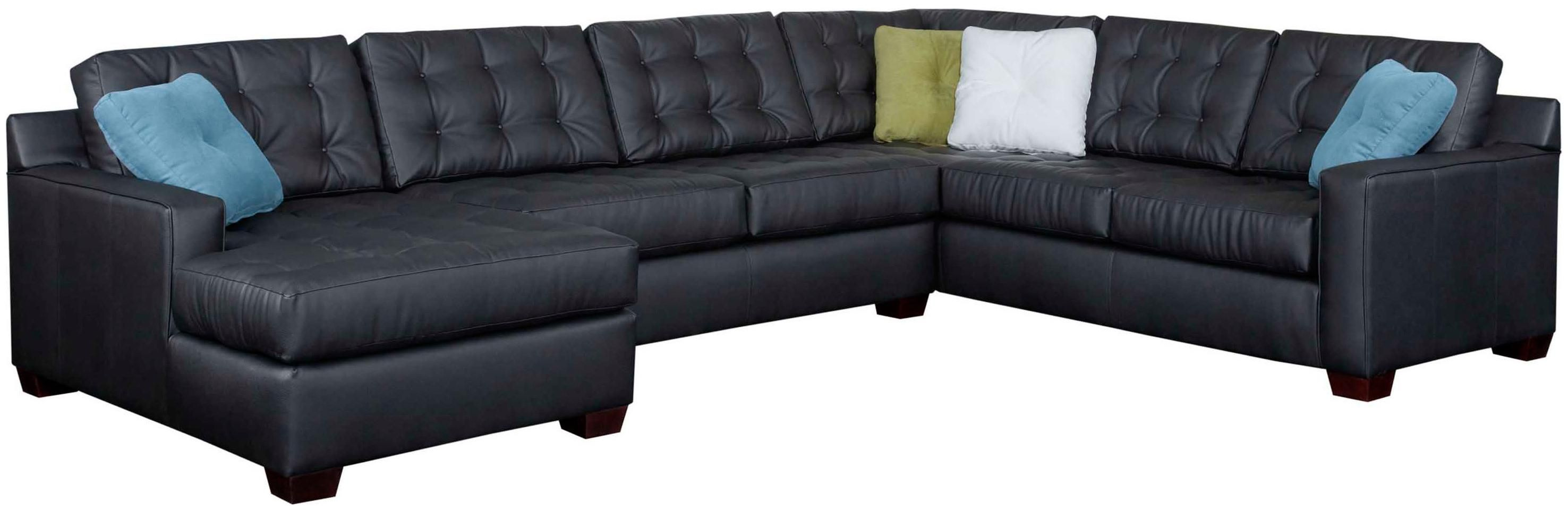 Soho Contemporary Sectional Sofa With Left Chaise By Broyhill