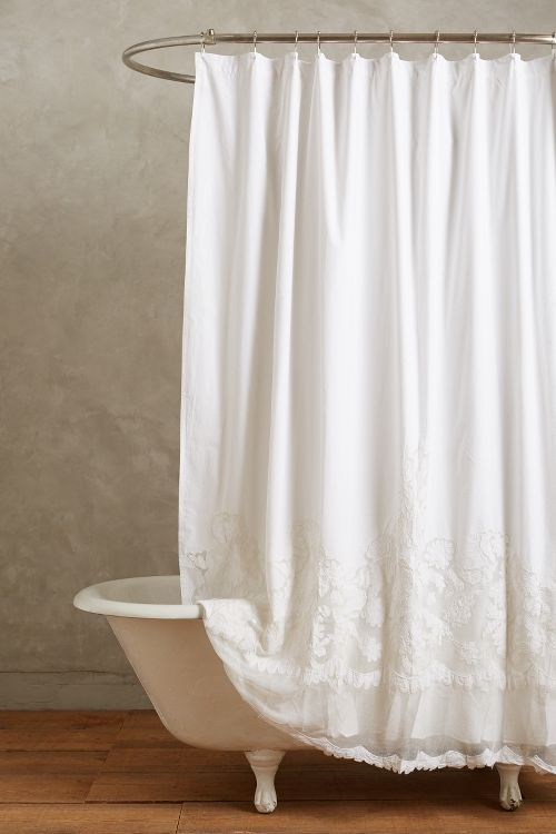 white lace shower curtain. Languid And Romantic Shower Curtain (who Knew? White Lace H