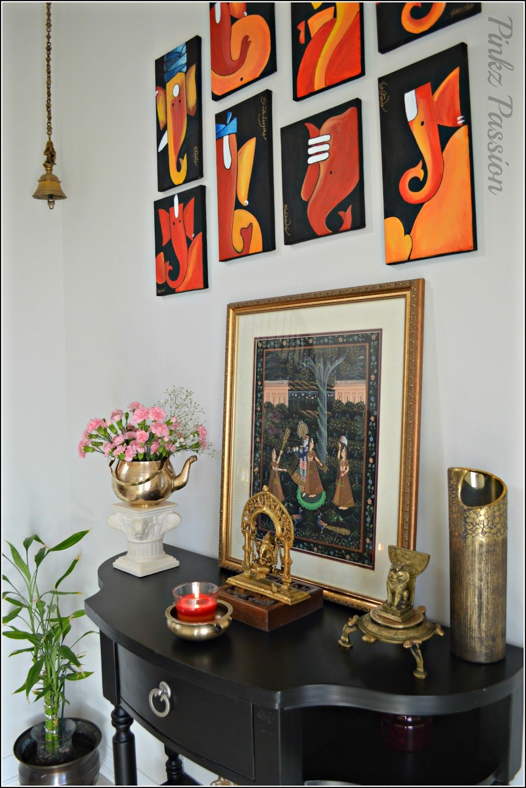 Home Design Ideas Hindi: Swing Ganesha, Spring Décor, Front Foyer, Indian Décor