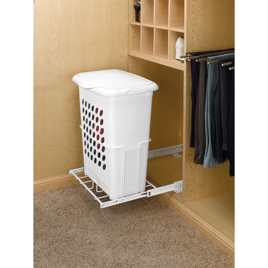 Lowes Laundry Baskets Shop Revashelf 1 Bushel Mixed Materials Clothes Hamper At Lowes