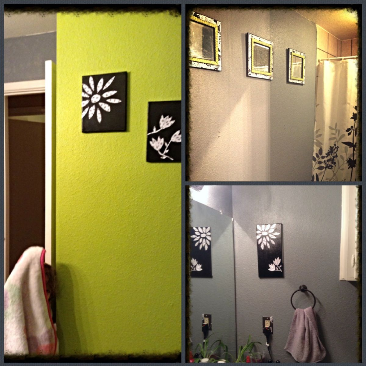 extraordinary lime green bathroom | Gray and lime green bathroom | Lime green bathrooms, Kids ...