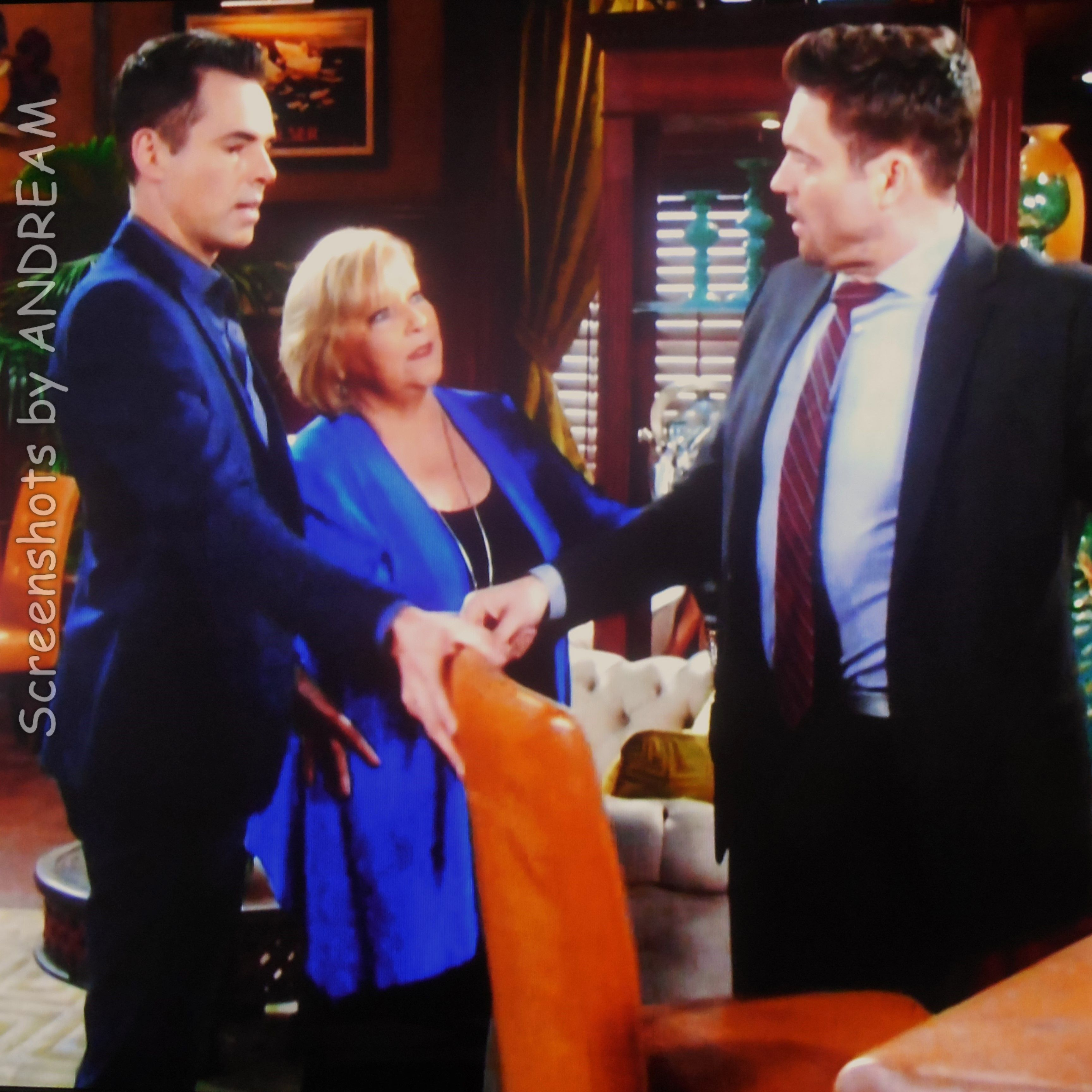 Billy And Traci Run Into Cane At The Club And See That He S Been Drinking Heavily Young And The Restless Soap Opera Young