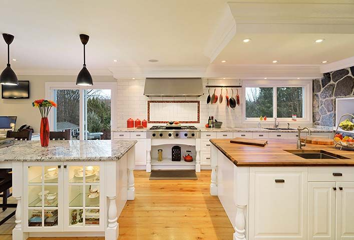 Best Huge Beautiful Kitchens Big Beautiful Kitchens 010 Big 400 x 300
