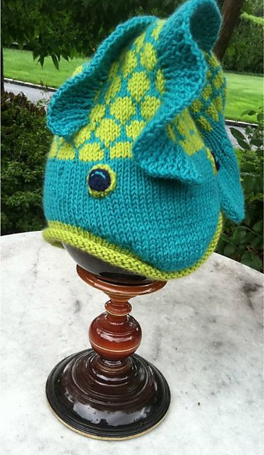 133823aae5d Fish Hat  Dead or Alive   pattern by Thelma Egberts