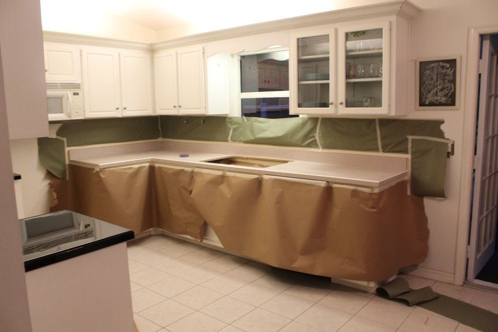 Paint Laminate Benchtop