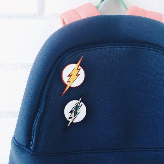 04170d9c430 Flash logo acrylic pin