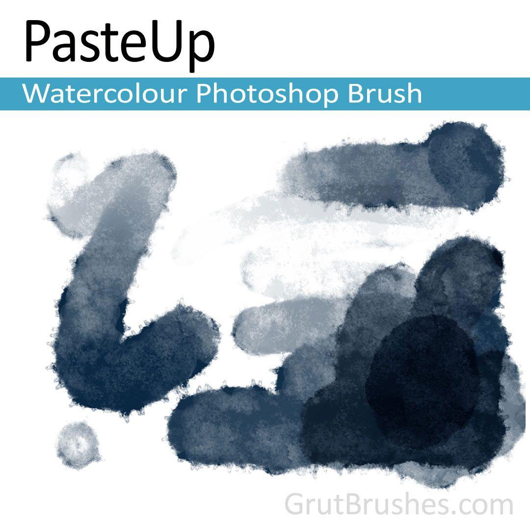 Pasteup Natural Watercolour Photoshop Brush Photoshop Pics