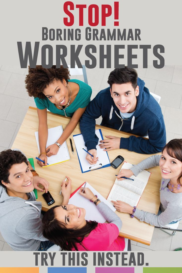 High School Grammar Worksheets And Activities Language Arts Classroom Secondary Classroom Education Teamwork Skills [ 1102 x 735 Pixel ]