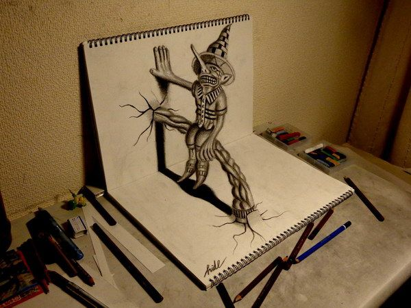 50 amazing pencil drawings drawing scarecrow on book