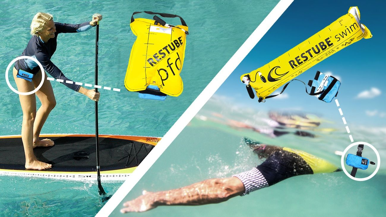 They have designed, engineered, and released one of the lightest and most compact inflatable water safety devices to date.