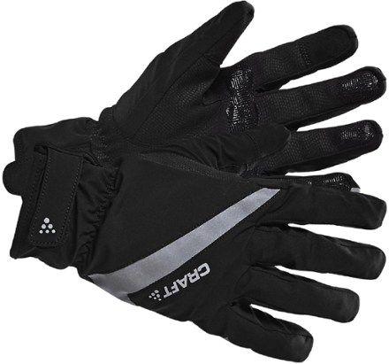 Craft Men's 2.0 Rain Cycling Gloves Black L #glovesmadefromsocks