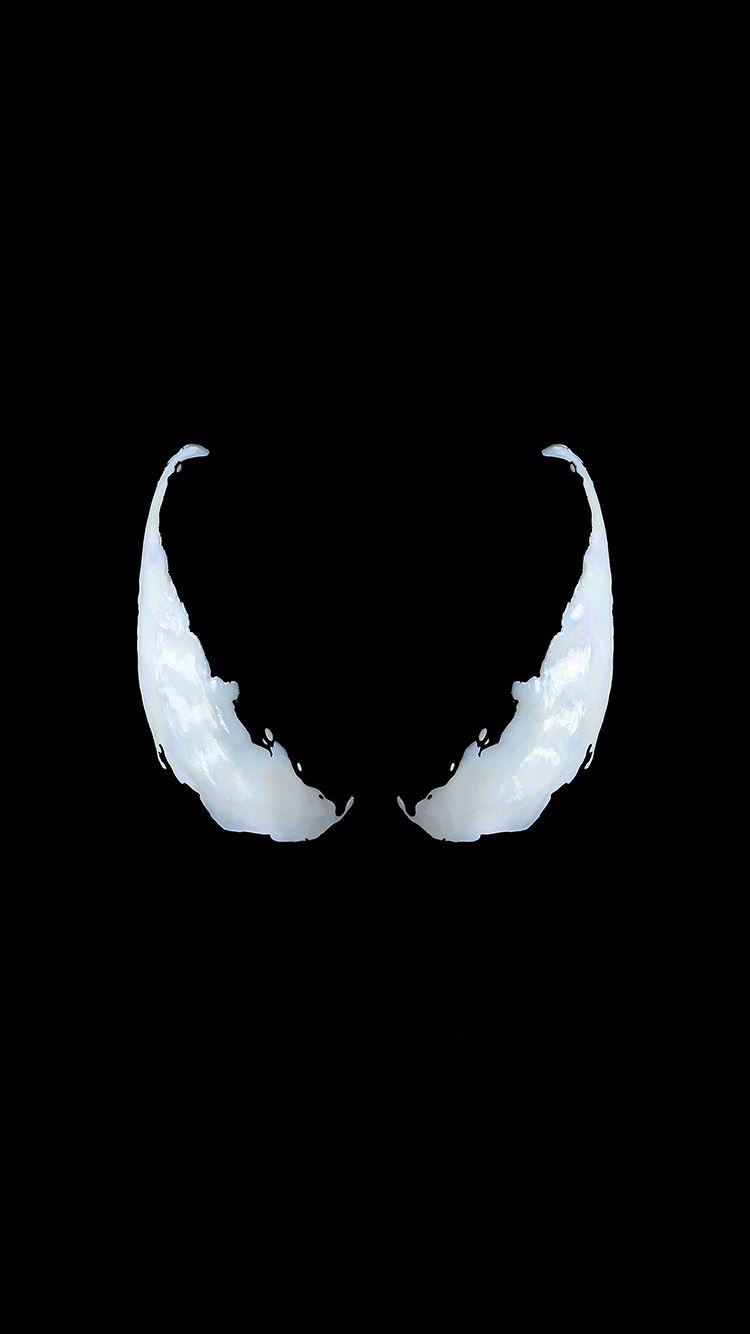 Bg50 Marvel Venom Logo Dark Eye Art Simple Minimal Portadas De Pantalla Mejores Fondos De Pantalla De Videojuegos Fondo De Pantalla De Avengers