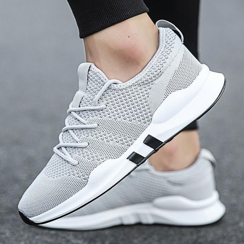 01df96b2298 Weweya 2018 White Sneakers Men Gym Running Shoes Lightweight zapatillas  hombre deportiva Brand Sport Shoes chaussure sport homme